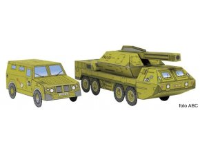 Tatra 815 8x8 vz. 77 DANA + GAZ TIGR 2330